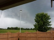 Storm heading towards Pea Ridge
