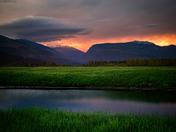 A Stormy Revelstoke Sunset