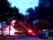 Fire in Hanover