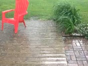 Pea sized hail elkhorn