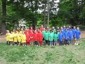 It's Field Day at Summit Montessori School in Framingham