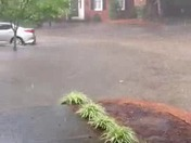 Flooding on mills ave