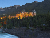 Blue Hour at Canadian Rockies