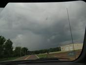 Dark looking clouds  Independence,MO