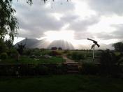 Fwd: sunrise over Taos Mountain