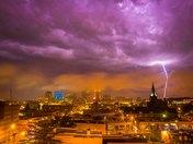 Des Moines in Storm