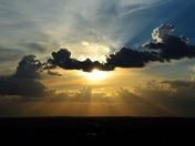 Placitas Ammazing Sunset New Mexico