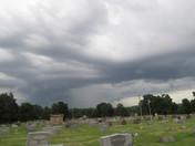 Storm clouds   in Buckner, MO