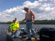 Fishing with Gary (Garr) Eagle River WI