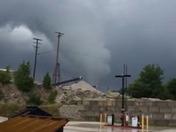 Funnel cloud/tornado Martin Limestone Honey Brook Quarry