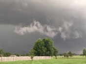 Tornado forming over Country Creek Golf Course