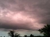 Storm color change