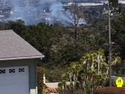 Fire in Monterey