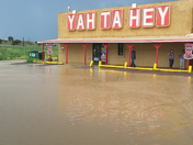 Flooding in Gallup, NM