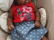 Aaliyah Brooklyn Thompson 4th of July 2015