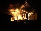 Vinton House Fire