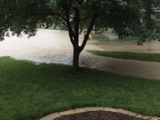 storm sewers overflowing