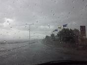 Rain in northern meadows_Rio Rancho