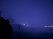 Lightning from this mornings storm