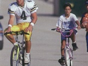 Brett Favre Bike Riding (Packers Bike riding tradition)