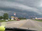 Wall cloud in Wilmington