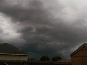 north of pea ridge storm