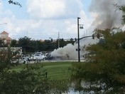 Waterford lakes car fire
