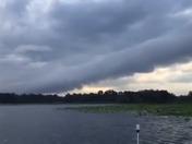 Strange Looking Cloud over Rez today...