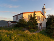 Lighthouse at Lobster Cove Head