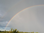Now double rainbows in Glenwood looking west! Nothing better!