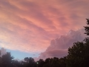 Pink storm photos
