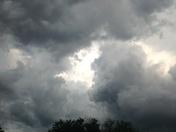 Sunday night storm