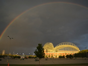 Miller Park before the storm rolled in last night