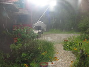 hail storm in the Ossipee mtns .at 2:30