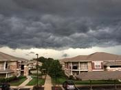 Storm over Overland Park ks