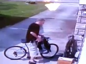 kid steals ups package