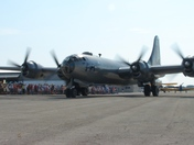 B-29 At new Century Airport in 2011