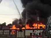 Fire in Kenosha