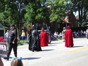 Characters At The Arrows To Aerospace Parade