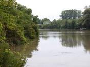 Where the river rus