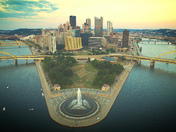 Evening Flight Around the Burgh....