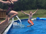 Summer Fun at Nena's Pool in Elkins
