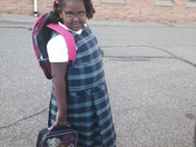 Danielle Allen First Day of School