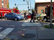 Car Hits Bicyclist