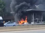 Exit 11 fire