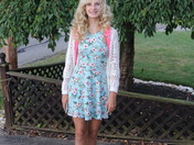 Kylee's First Day of 8th Grade at Ringgold Middle School