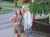 Krivijanski sisters First Day of School at Ringgold Middle School