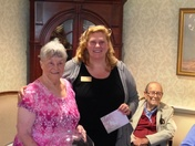 Valley Terrace Honors United Valley Interfaith Project Volunteer with Senior Ser