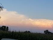 Anvil cloud? Glenwood Iowa