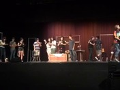 Cesar Chavez High School Drama Department working on their first show!